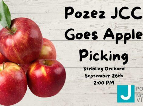 Pozez apple picking image